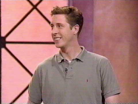 Brian Hamilton actor on the game show Debt.