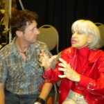 Brian Hamilton actor, Chatting with Carol Channing