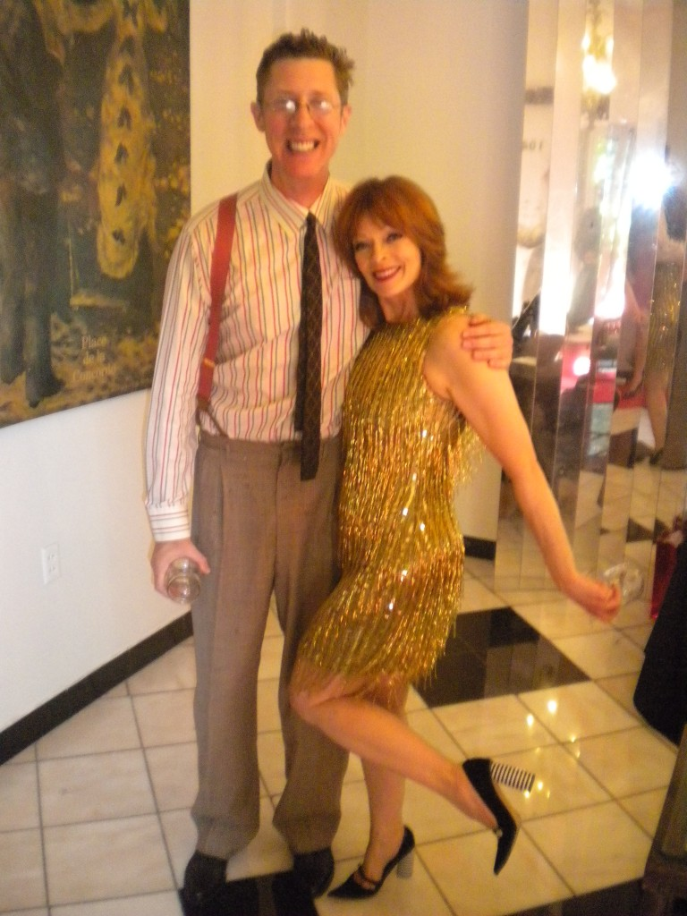 Brian Hamilton and Frances fisher