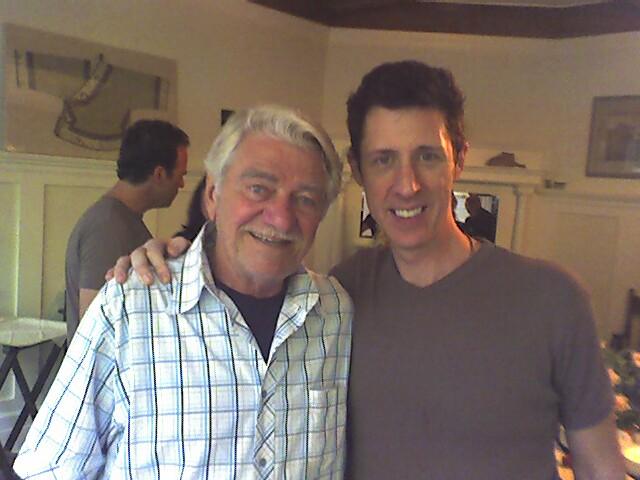 Seymour Cassel and Brian Hamilton
