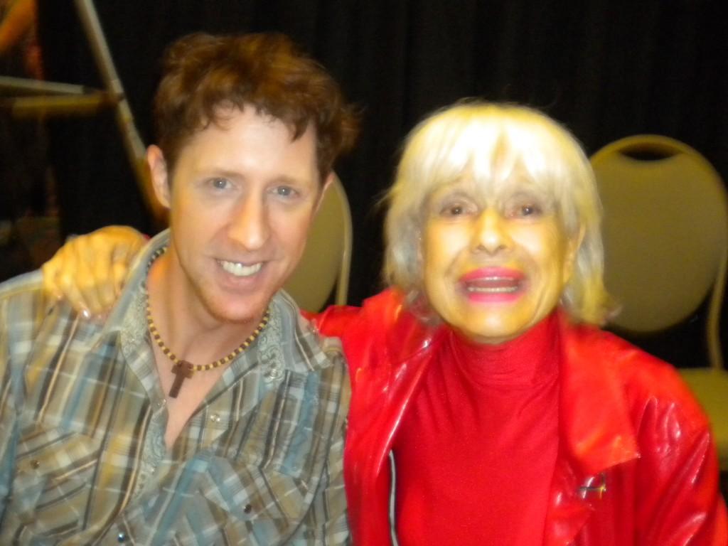 Brian Hamilton and Carol Channing