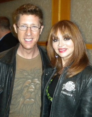 Brian Hamiton and comedienne Judy Tenuta