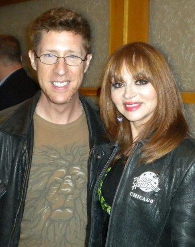 Brian Hamiton and comedienne Judy Tenuta