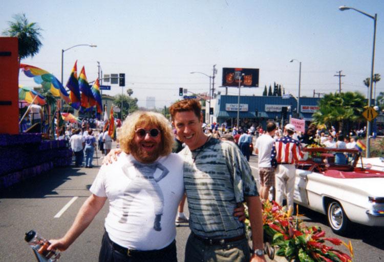 Bruce Vilanch and Brian Hamilton