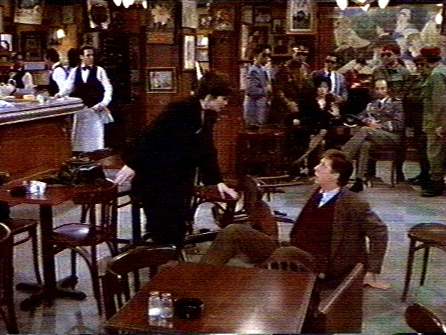 NBC's Café Americain guest starring Brian Hamilton