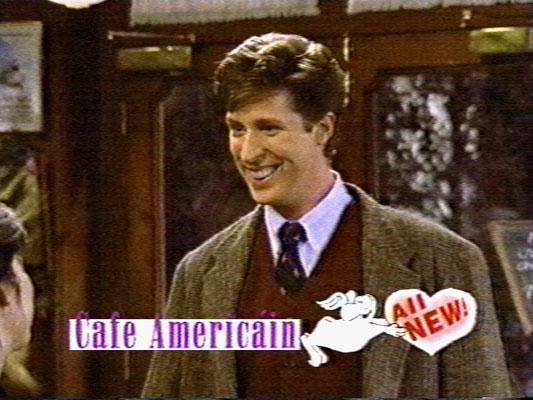 NBC's Café Americain, guest starring Brian Hamilton.