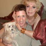 Brian Hamilton and Holly Woodlawn