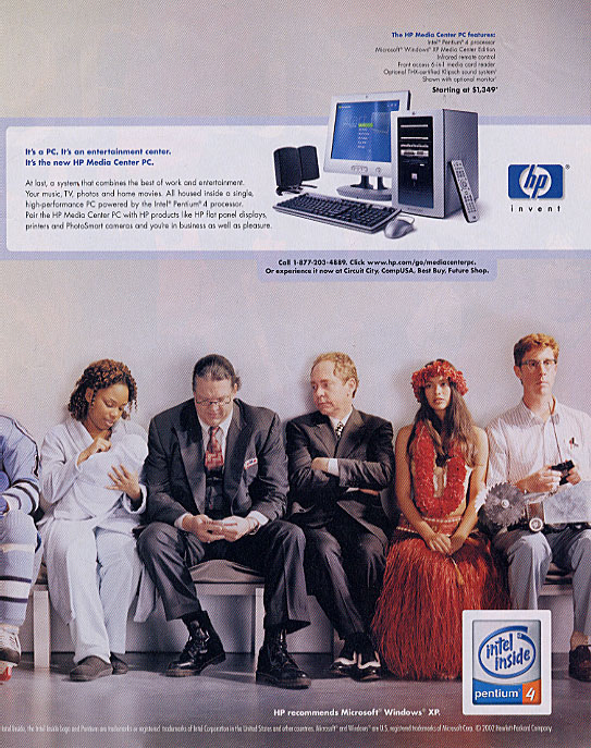 HP Hewlett-Packard ad with Brian Hamilton, Penn & Teller