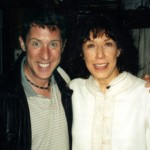 Brian Hamilton and Lily Tomlin at the Booth theater in NY
