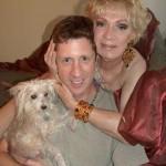 Holly Woodlawn and Brian Hamilton with Echo