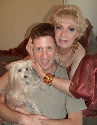 Holly Woodlawn and Brian Hamilton with Echo