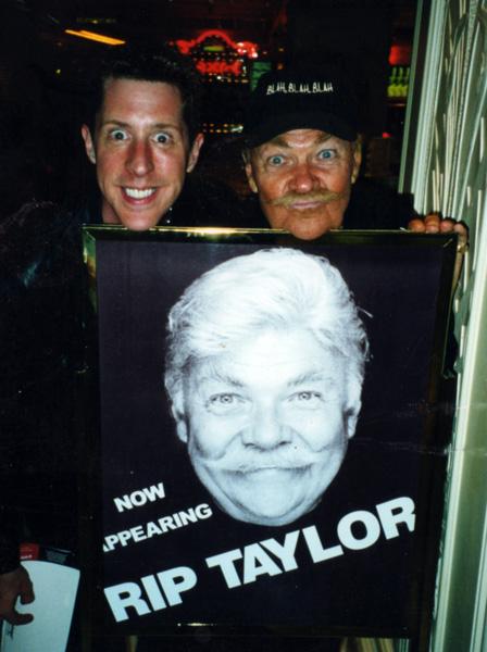 Brian Hamilton and Rip Taylor