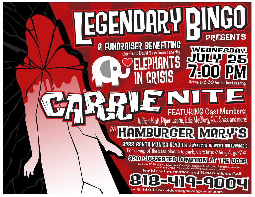 Carrie Bingo