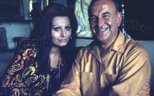 Sophia Loren at Amalfi, 1973